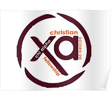 Chi Alpha Christian Fellowship @VT Poster