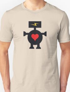 Cute Heart Robot T-Shirt