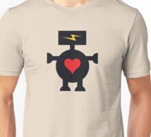 Cute Heart Robot Unisex T-Shirt