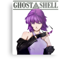 Ghost in The Shell anime shirt Metal Print