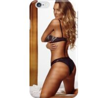 Glamour portrait of woman with blond hair art photo print iPhone Case/Skin