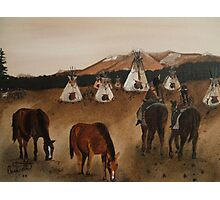 Indian Reservation Photographic Print