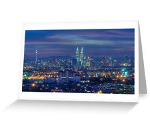 The City Of Lights Greeting Card