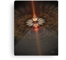 'Transmission to Earth (the carrier wave)...' Canvas Print