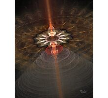 'Transmission to Earth (the carrier wave)...' Photographic Print