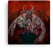 The Baphomet in its lair Canvas Print