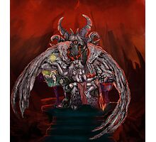 The Baphomet in its lair Photographic Print