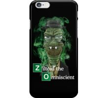 Ziltoid as Heisenberg - Black iPhone Case/Skin