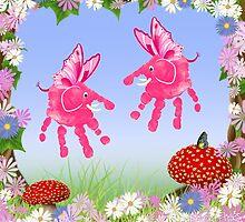 Fairy Elephant Critters by Carol Heath