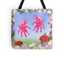Fairy Elephant Critters Tote Bag