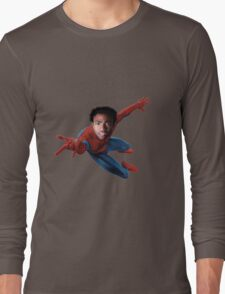 Donald for Spiderman Long Sleeve T-Shirt