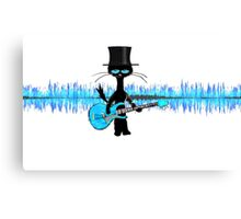 Top Hat Ash  Canvas Print