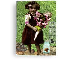 You Oughta Be In Pictures Canvas Print
