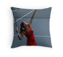 Amelie Mauresmo Throw Pillow
