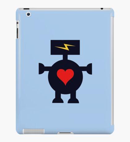 Cute Heart Robot iPad Case/Skin