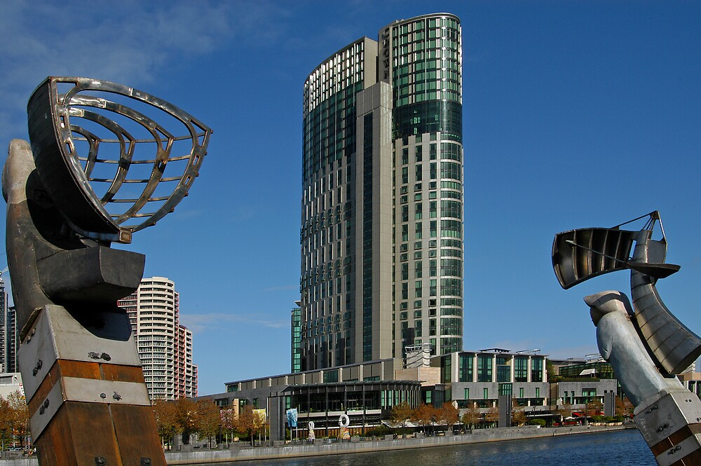 Crown Casino by Paul Bell