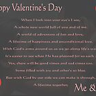 Valentine's Card - Me & You  by trwphotography