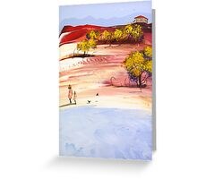 Walk with mum Greeting Card