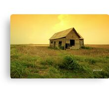 Prairie Home Canvas Print