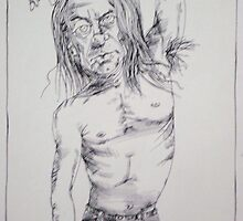 Iggy Pop by James Money