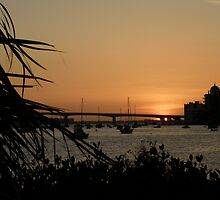 The Sun Sets On The Bay ~ Part Two by artisandelimage