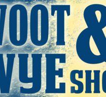 Woot and Wye Splash Sticker