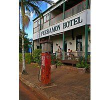 Peeramon Hotel - Atherton tablelands - North Queensland Photographic Print