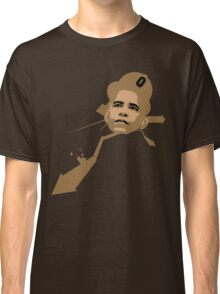 URBAN OBAMA BROWN Classic T-Shirt