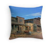 Bonanza Creek Movie Ranch, Santa Fe, New Mexico Throw Pillow