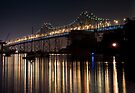Reflecting under the Oakland Bay Bridge by MattGranz