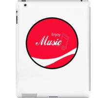 Enjoy Music iPad Case/Skin