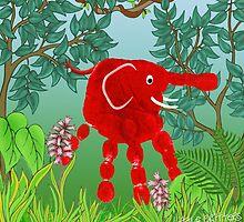 Rainforest Critter by Carol Heath