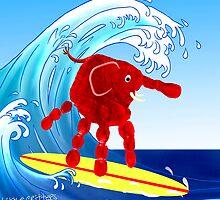 Wave Rider Boy  by Carol Heath