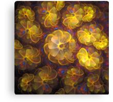 'Virtual Bouquet' Canvas Print