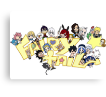Fairy Tail anime manga Guild shirt Canvas Print