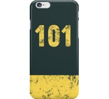Fallout Vault 101 - Vintage Blue iPhone Case/Skin