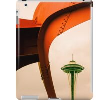 Space Needle from Olympic Sculpture Park iPad Case/Skin