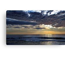 California Evening Sky Canvas Print