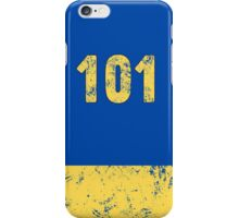 Vault 101 - Classic Blue iPhone Case/Skin