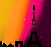 Paris Sunset by CloverFi