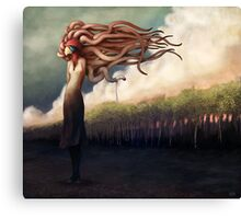 The Sundered Canvas Print