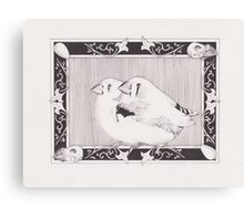 Dom's Finches Canvas Print