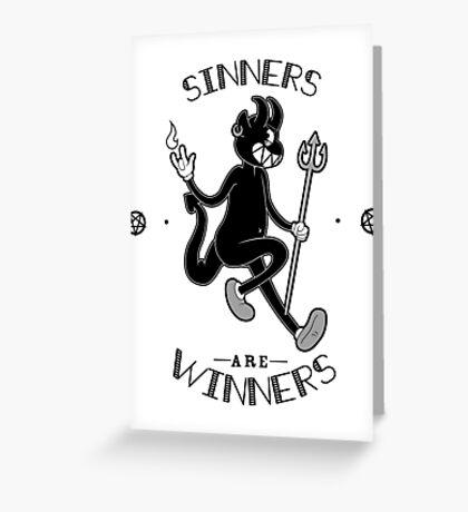 Sinners are WINNERS Greeting Card