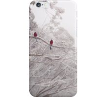 Rosella's in the Eucalypts, Mt Buller iPhone Case/Skin