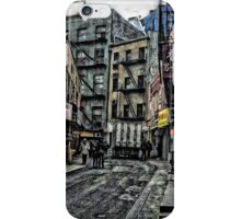 Doyers Street Chinatown iPhone Case/Skin