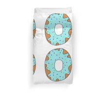 Blue donut Duvet Cover
