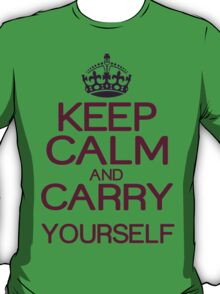 Keep calm and do it yourself Funny Geek Nerd T-Shirt