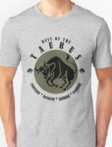 Taurus Horoscope Zodiac Sign Birthday T-Shirt