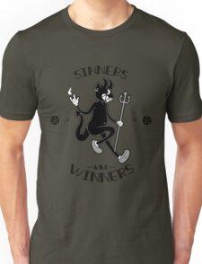 Sinners are WINNERS Unisex T-Shirt