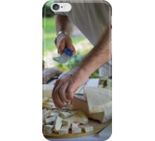 cheese appetizer iPhone Case/Skin